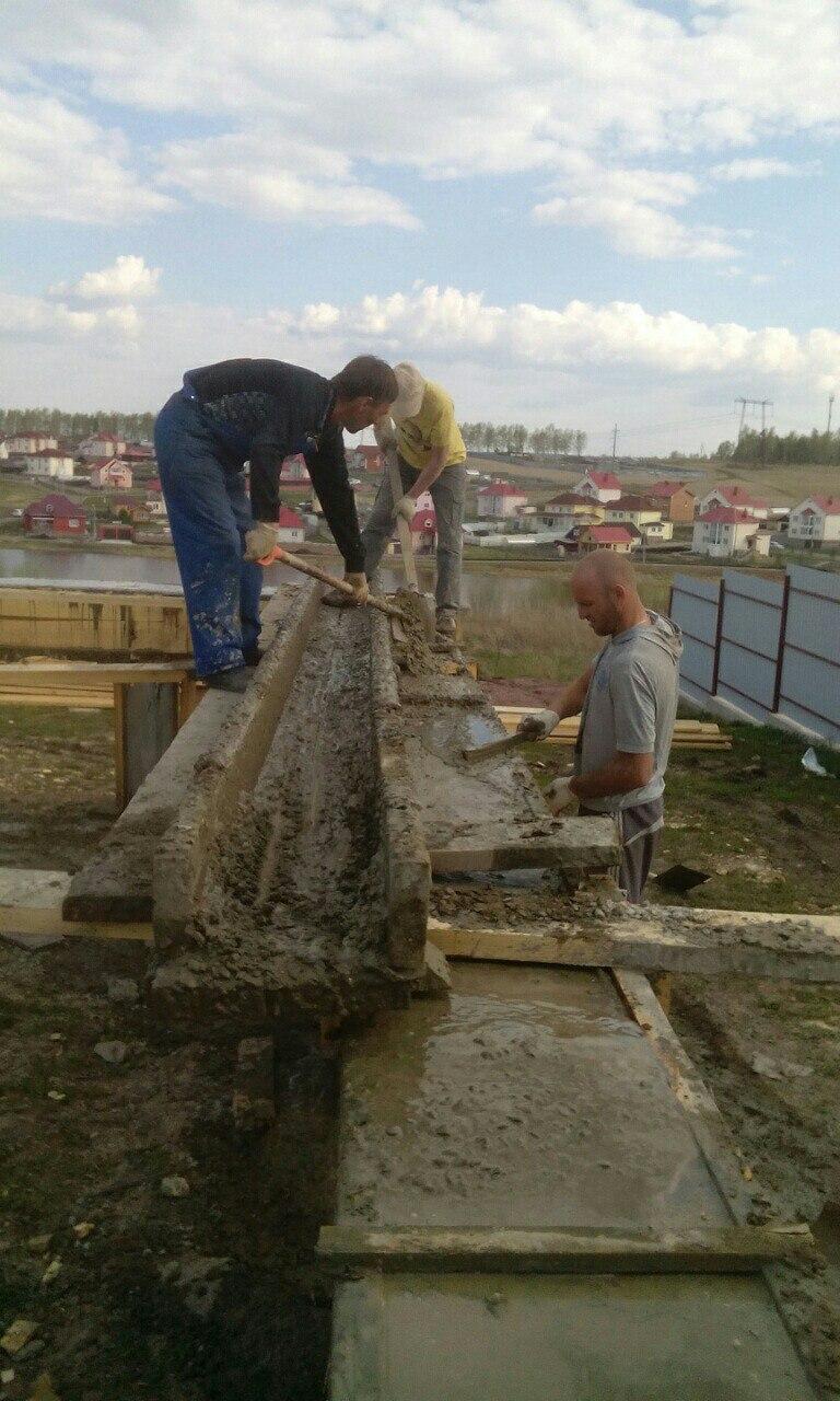 Заливка-бетона-Ростверка-3