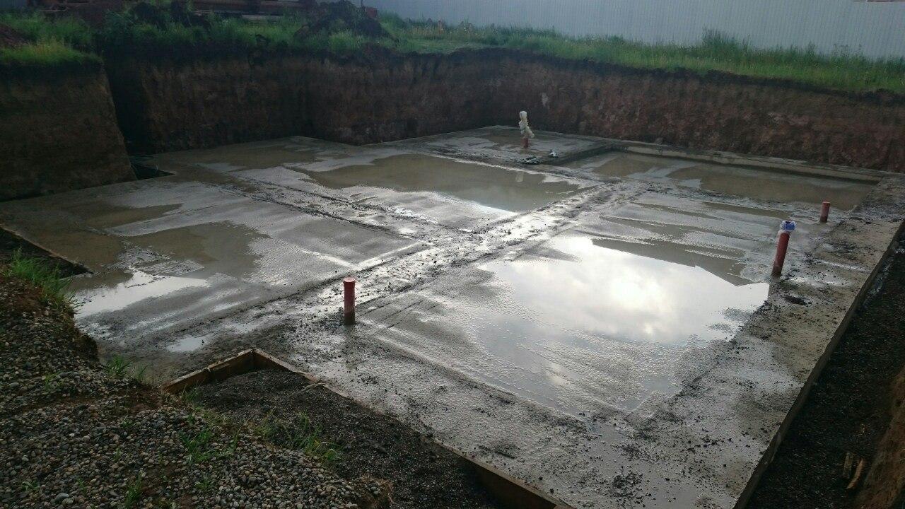Заливка бетона полы по грунту-2
