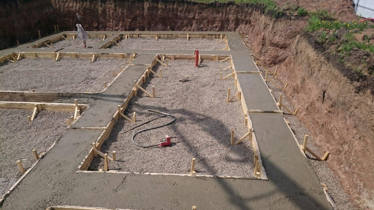 Заливка бетона-2