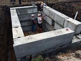 готовый бетонный погреб купить