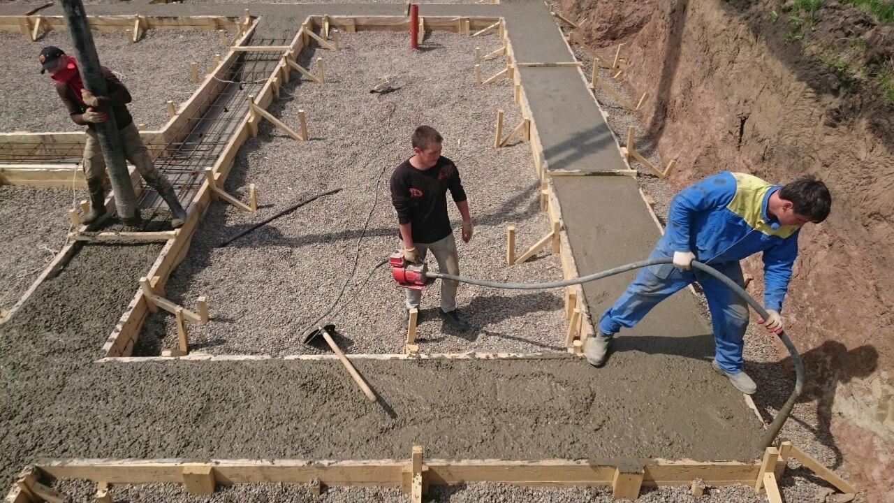 Заливка бетона-1