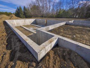 fundament pod kluch
