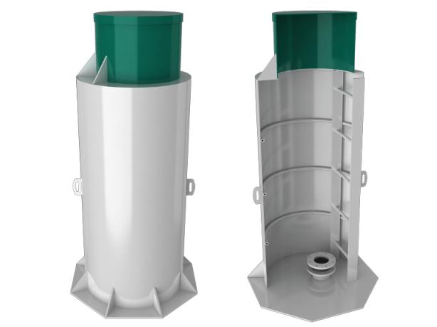 Пластиковый кессон БИО-С 2 ТИП 2 long - фото