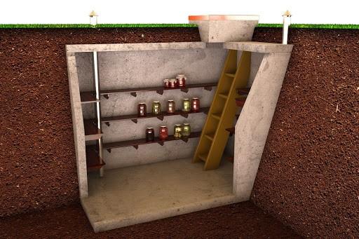 бетонный погреб
